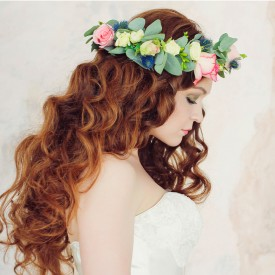 Corona Floreale Romantica