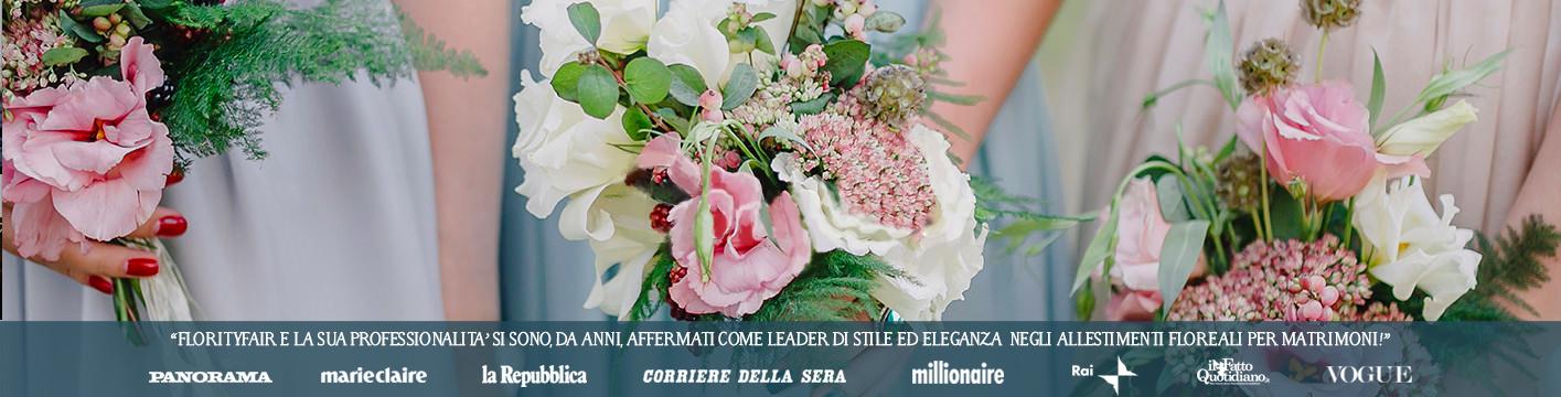 Disegna l'allestimento floreale del tuo matrimonio