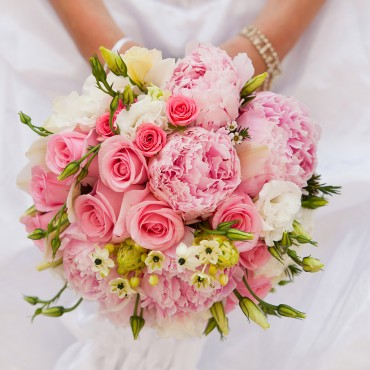 Bouquet  Rose e peonie
