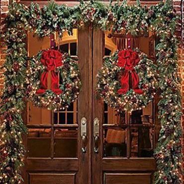 Decorazione Natale Vetrine