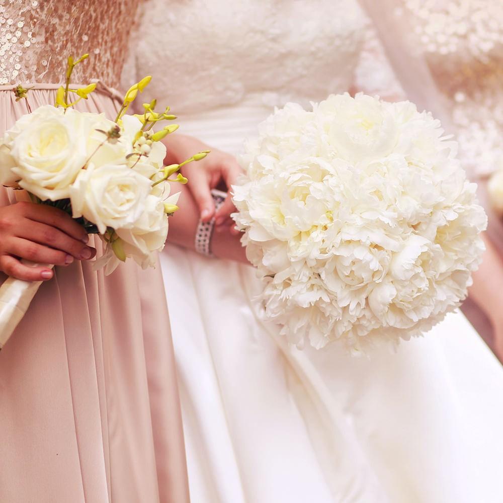 Bouquet Sposa E Damigelle.Set Bouquet Sposa 2 Bouquets Damigelle Flority Fair