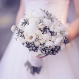 Bouquet  Roselline e bacche