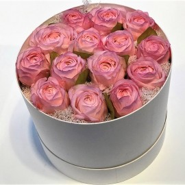 Flowerbox Regalo Rose Stabilizzate