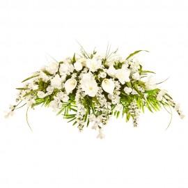 Cuscini Funebri per Condoglianze - Corona floreale