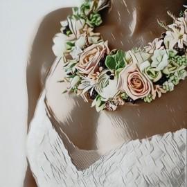 Collana floreale