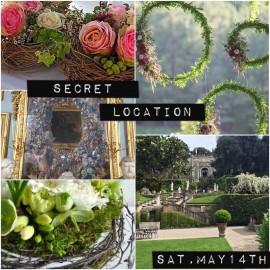 Corso di composizione floreale Giardini Segreti (PRIMAVERA)