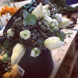 Cappelliera fiori freschi di stagione