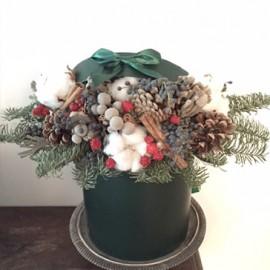 Cappelliera fiori invernali