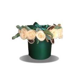 Cappelliera Inverno Rose Stabilizzate