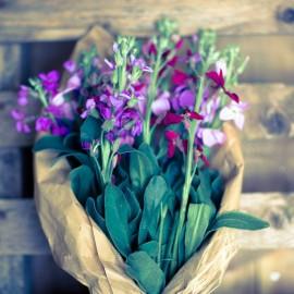 Bouquet Viole di Pasqua
