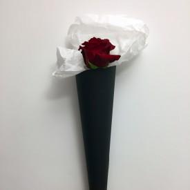 Cono con rosa
